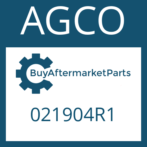 AGCO 021904R1 - WASHER