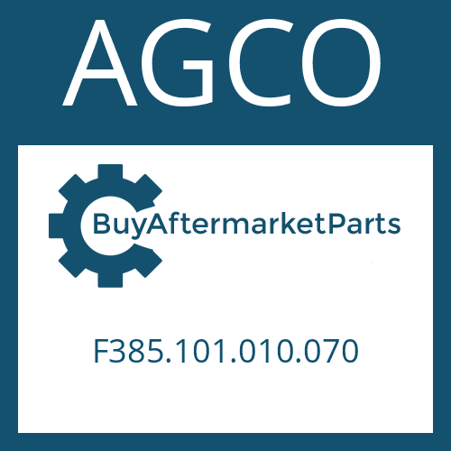 AGCO F385.101.010.070 - AXIAL WASHER