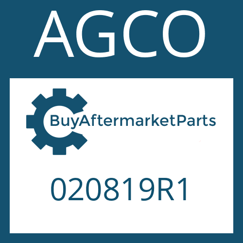 AGCO 020819R1 - THRUST WASHER