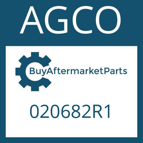 AGCO 020682R1 - WASHER