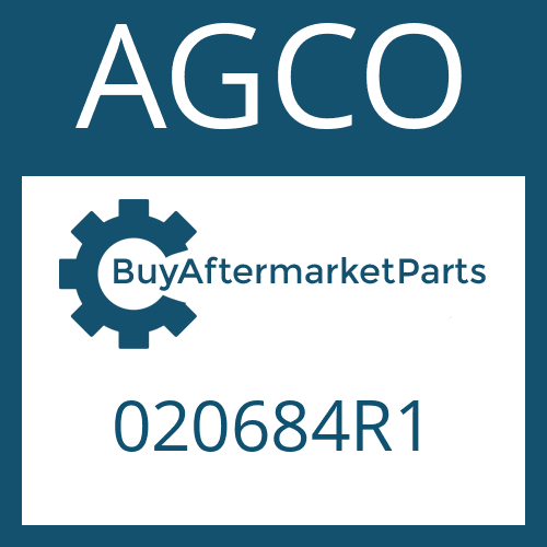 AGCO 020684R1 - WASHER