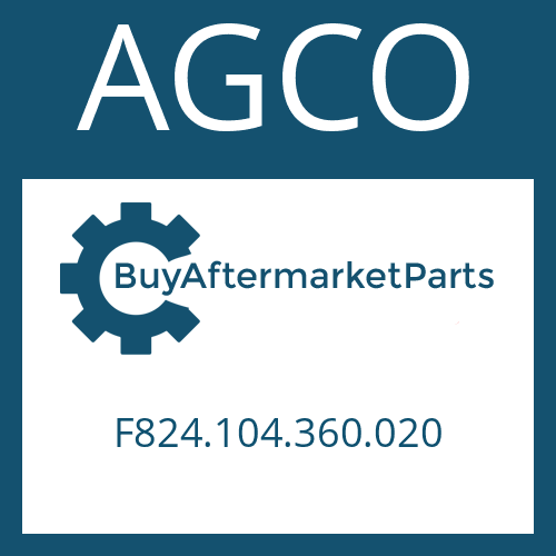 AGCO F824.104.360.020 - DISC CARRIER