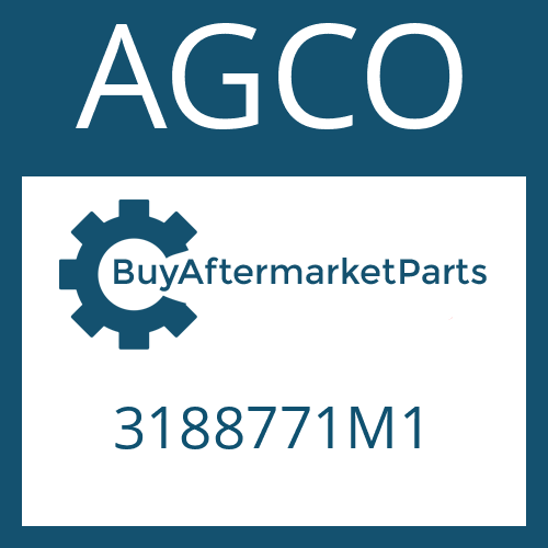 AGCO 3188771M1 - HINGED COVER