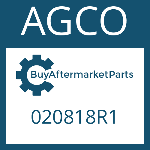 AGCO 020818R1 - SUN GEAR SHAFT