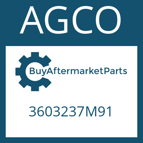 AGCO 3603237M91 - DOUBLE JOINT