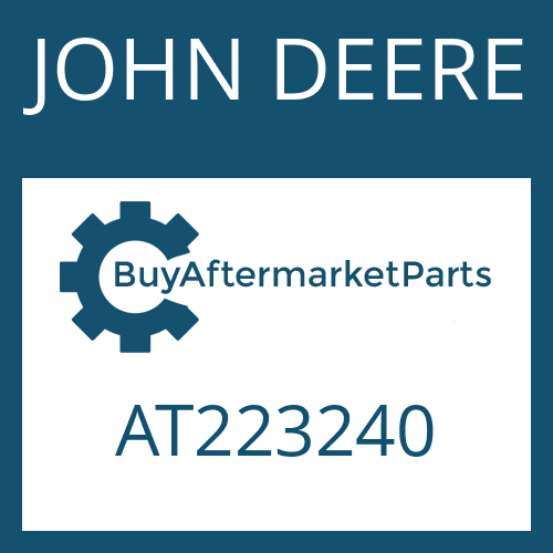 JOHN DEERE AT223240 - COUPLING