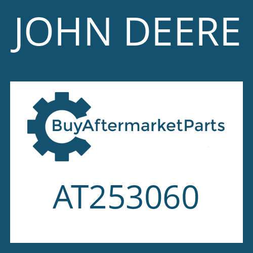 JOHN DEERE AT253060 - WASHER