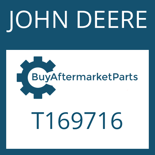 JOHN DEERE T169716 - CAP SCREW