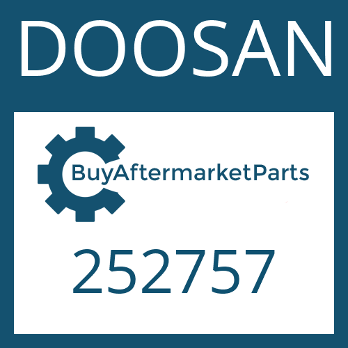 DOOSAN 252757 - PRESSURE SWITCH
