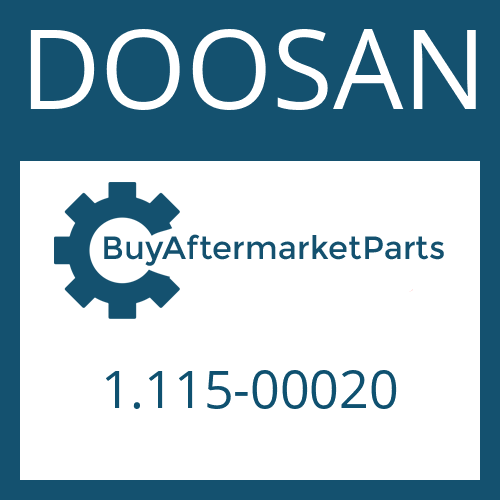 DOOSAN 1.115-00020 - RETAINING RING