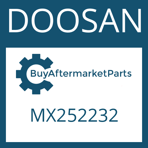 DOOSAN MX252232 - O-RING