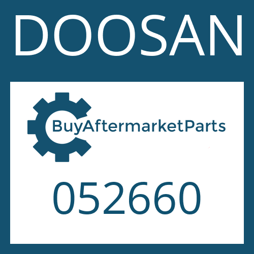 DOOSAN 052660 - SEALING RING