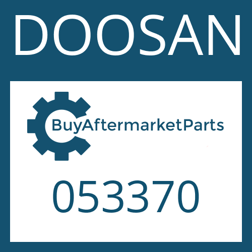 DOOSAN 053370 - HEXAGON SCREW