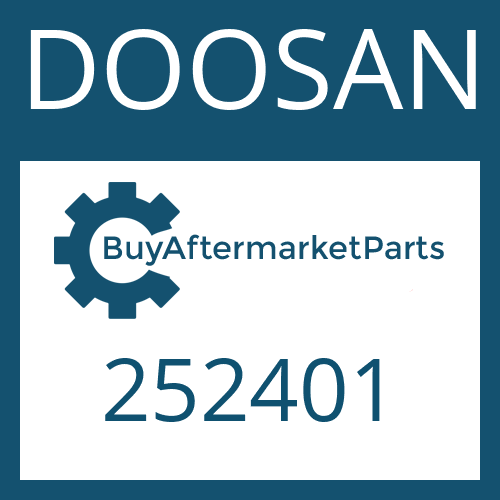 DOOSAN 252401 - CAP SCREW