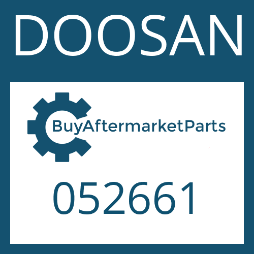 DOOSAN 052661 - SCREW PLUG