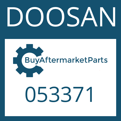 DOOSAN 053371 - WASHER