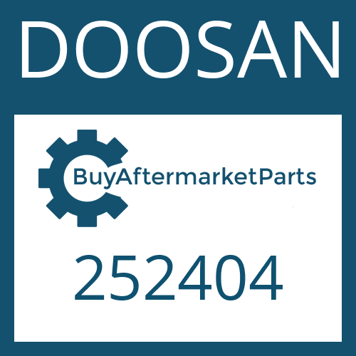 DOOSAN 252404 - COMPRESSION SPRING