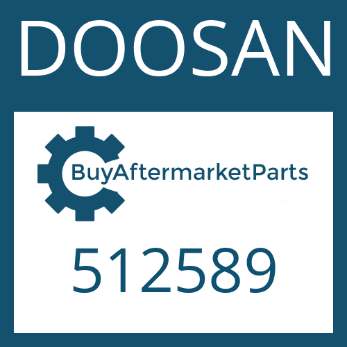 DOOSAN 512589 - WASHER