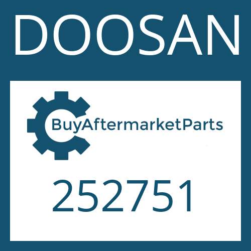 DOOSAN 252751 - TURBINE WHEEL