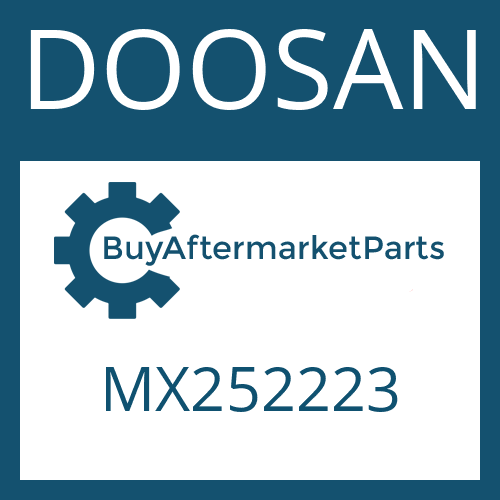 DOOSAN MX252223 - WIRING HARNESS