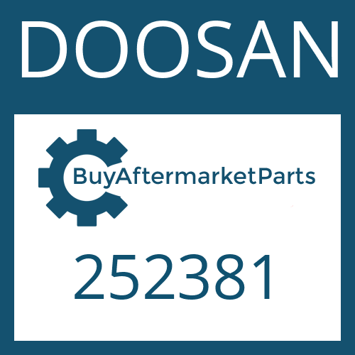 DOOSAN 252381 - DISC CARRIER