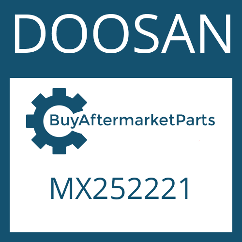 DOOSAN MX252221 - BUSH