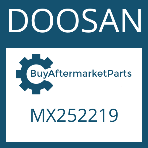 DOOSAN MX252219 - PISTON