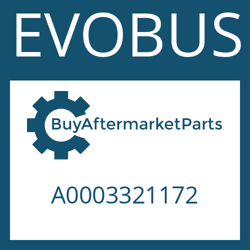 EVOBUS A0003321172 - CLAMPING NUT