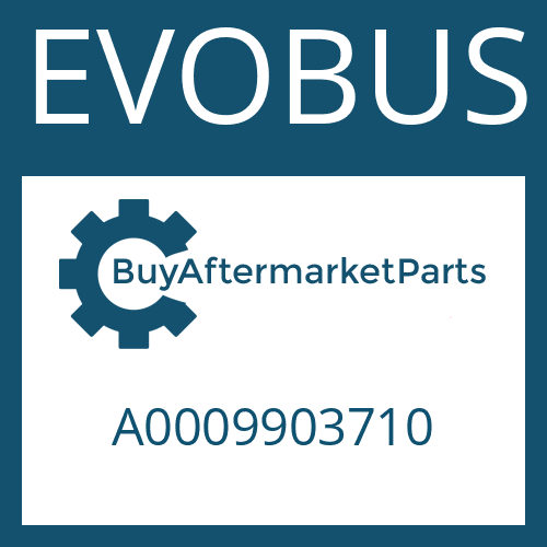 EVOBUS A0009903710 - SCREW PLUG