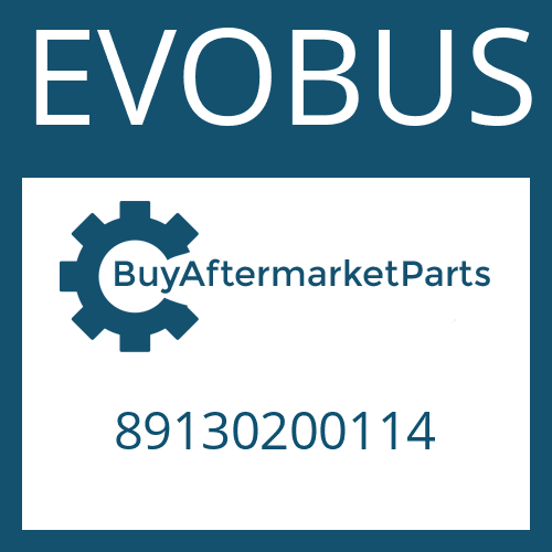 EVOBUS 89130200114 - THRUST WASHER