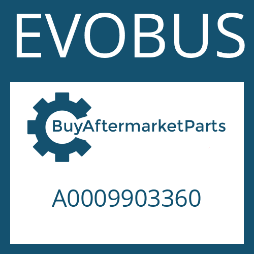 EVOBUS A0009903360 - SLOTTED NUT
