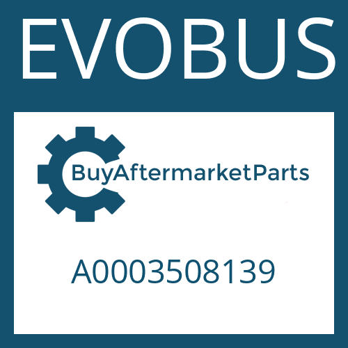 EVOBUS A0003508139 - BEVEL GEAR SET