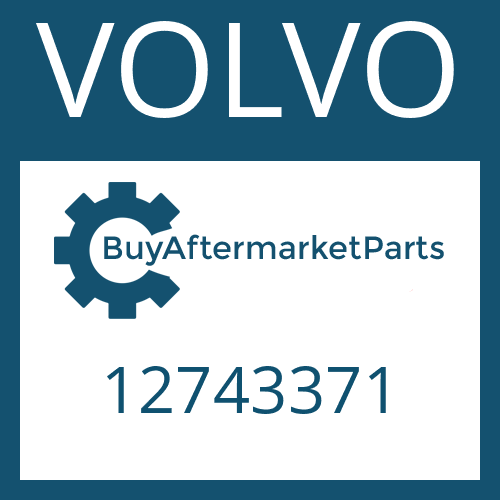 VOLVO 12743371 - SLOTTED NUT