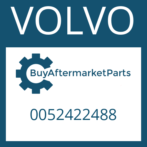 VOLVO 0052422488 - ADJUSTING NUT