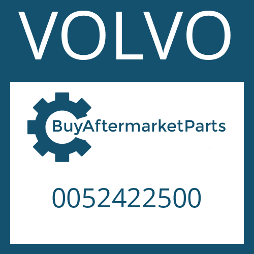 VOLVO 0052422500 - AXLE CASING