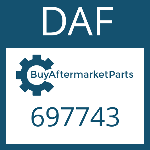 DAF 697743 - BALL JOINT