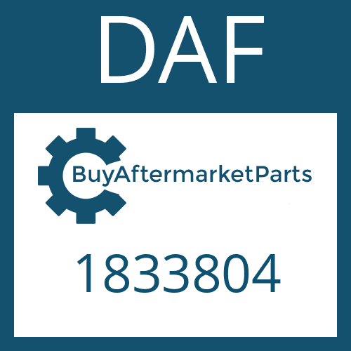 DAF 1833804 - SHIFT CYLINDER