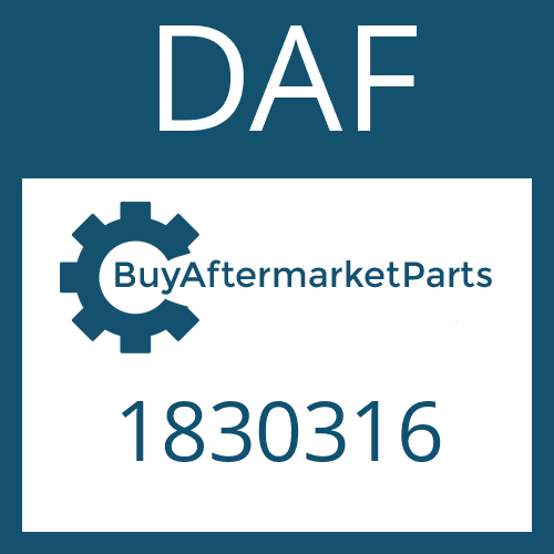 DAF 1830316 - RELEASE DEVICE