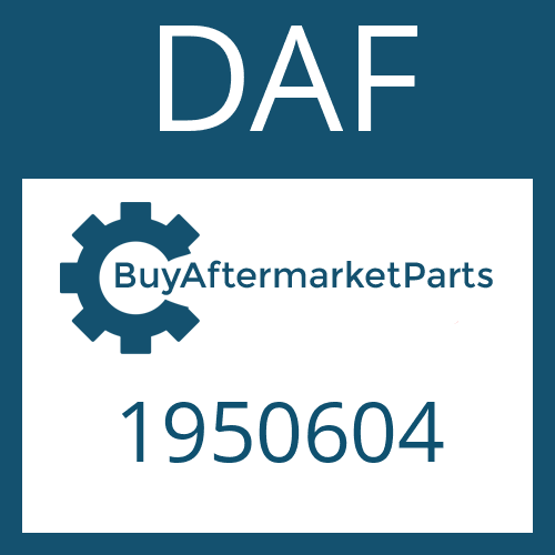 DAF 1950604 - CABLE