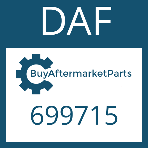 DAF 699715 - WASHER