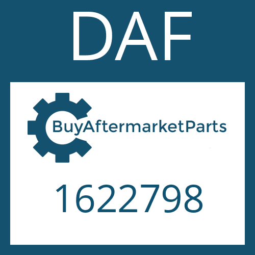 DAF 1622798 - SHAFT SEAL