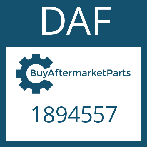 DAF 1894557 - WASHER