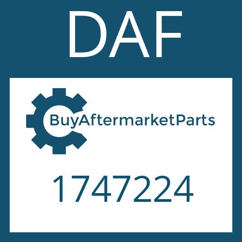 DAF 1747224 - SEALING DISC