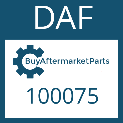 DAF 100075 - RETAINING RING