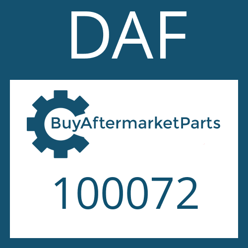 DAF 100072 - RETAINING RING