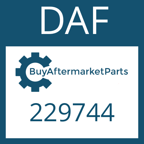 DAF 229744 - CYLINDRICAL PIN