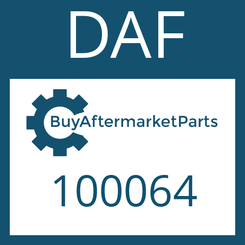 DAF 100064 - SHAFT SEAL