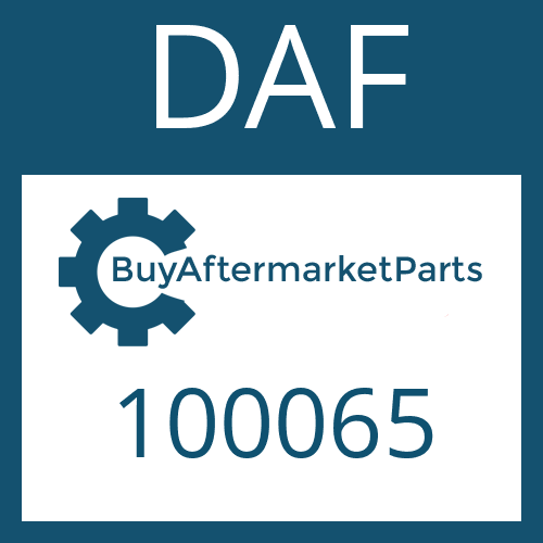 DAF 100065 - SHAFT SEAL