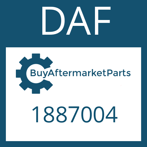 DAF 1887004 - SCREW PLUG