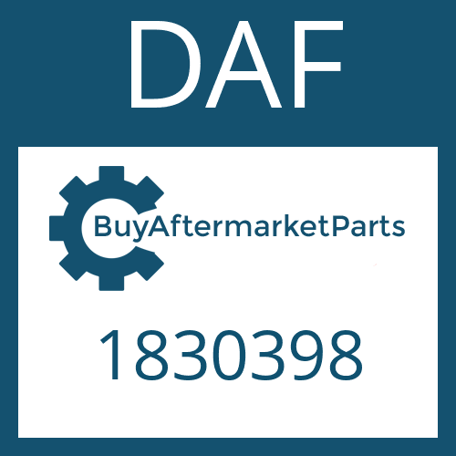 DAF 1830398 - CAP SCREW
